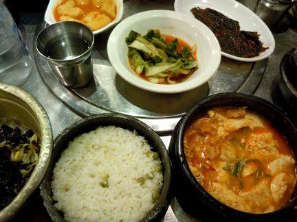 韓国料理は辛さを控えめにするとイマイチになる