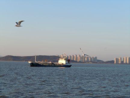 仁川(インチョン)の遊覧船ヴィーナス号で踊るアジュンマたち