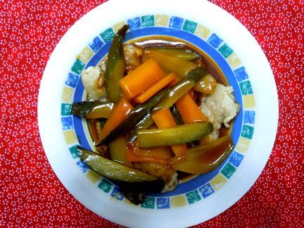 韓国式酢豚 タンスユク(탕수육)の作り方