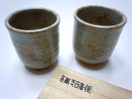 張今貞先生の湯呑茶碗